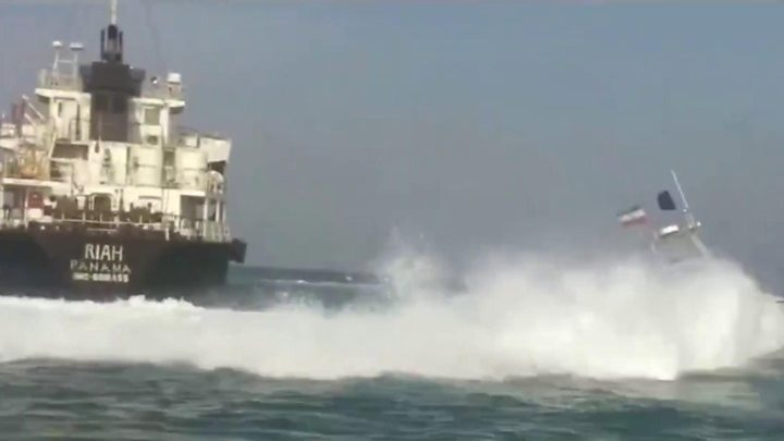 US Navy Shot Down an Iranian Drone in the Strait of Hormuz