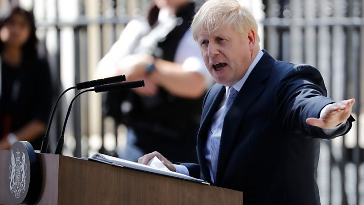 Boris Johnson's New Cabinet will Meet for the First Time