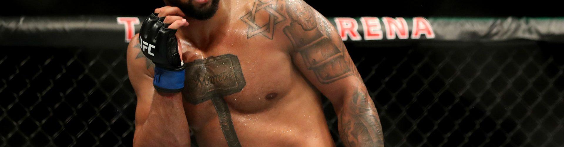 UFC: Thiago Santos Fought Despite of Injury