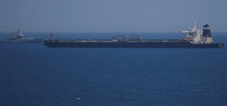 US Department of Justice Sought to Seize Iranian Grace 1 Oil Tanker in Gibraltar