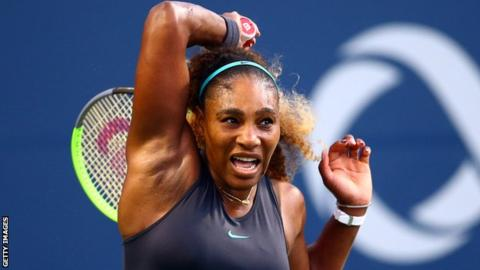 Serena Williams Eases into the Third Round of the Rogers Cup in Toronto