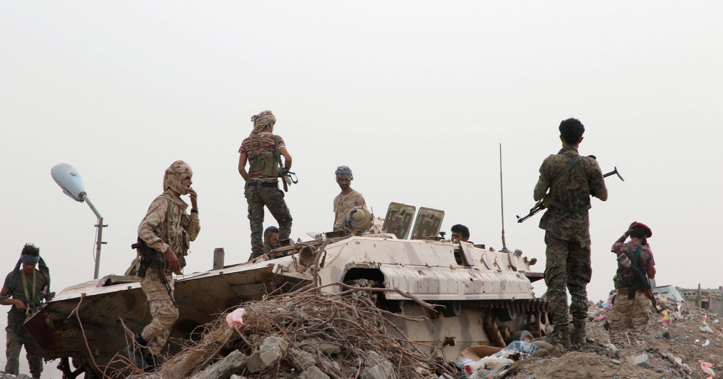 Yemeni Separatists Took Over Most of the Southern City of Aden