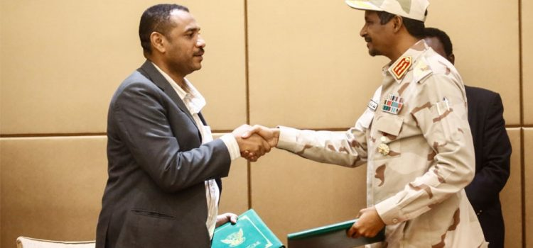 Sudan's Ruling Generals and Protest Leaders Sign Constitutional Declaration