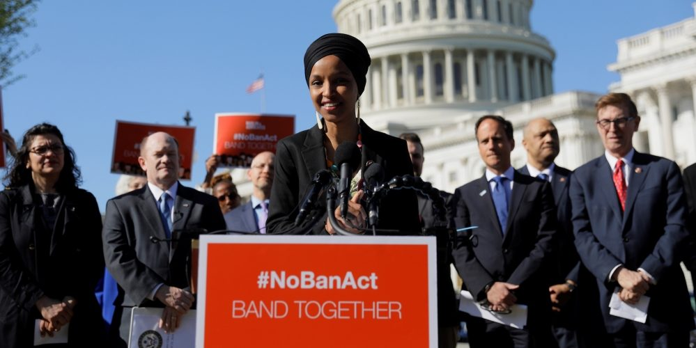 Israel Fears a Visit by Ilhan Omar Together with John Lewis and Rashida Tlaib