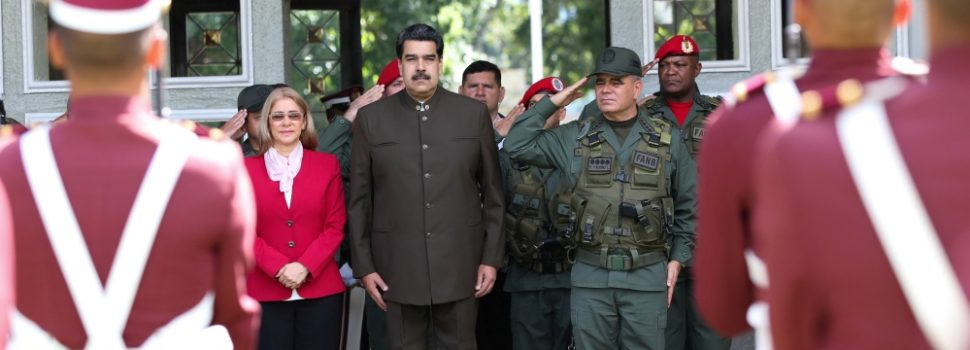 US President Trump Signs an Executive Order Imposing an Economic Embargo Against Venezuela