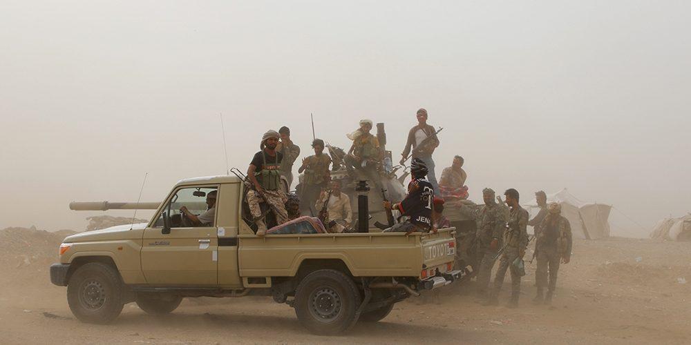 Saudi-led Coalition Fighting in Yemen Calls for an Immediate Ceasefire in Aden