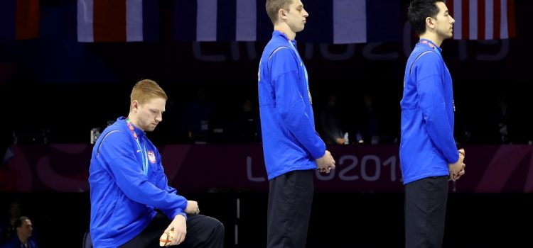 Two US Athletes Face Possible Disciplinary Action for Podium Protests at Pan Am Games