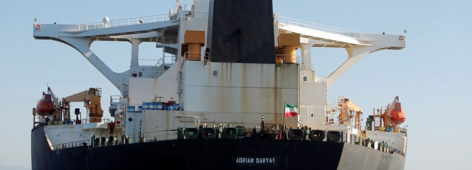 Gibraltar Refuses a Request by the US to Seize an Iranian Oil Tanker