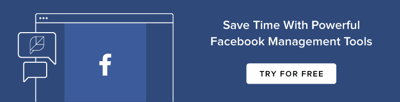 Facebook Management Try Free Banner