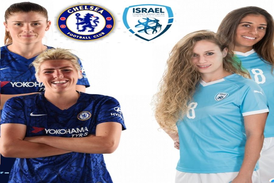 Israeli Women's Soccer Team and the UK's Chelsea Football Club Women will Play a Friendly Match