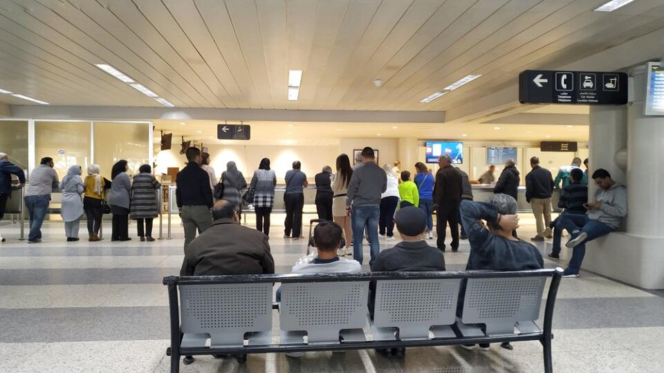 Beirut Airport Records Number of Passengers Depart in One Day