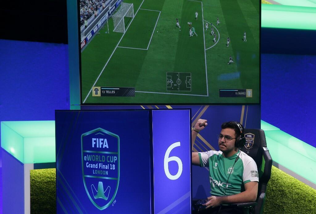 Saudi Gamer Makes Final of FIFA eWorld Cup in London