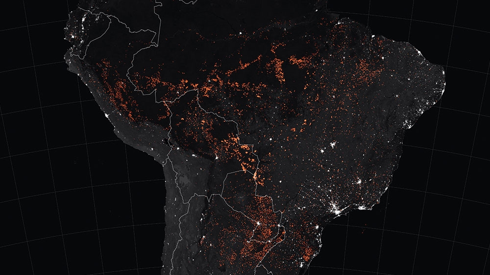 Brazil fires