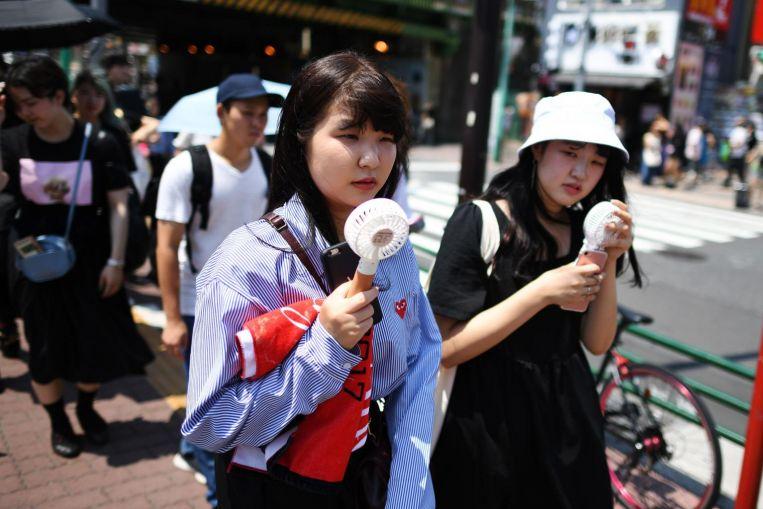 Tokyo Experiencing Soaring Temperatures