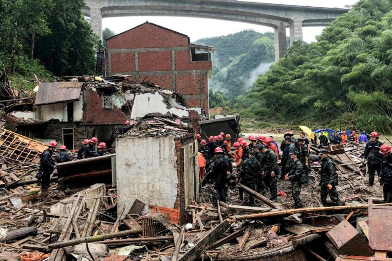 Typhoon Lekima Leaves 49 Dead and 21 Missing in China