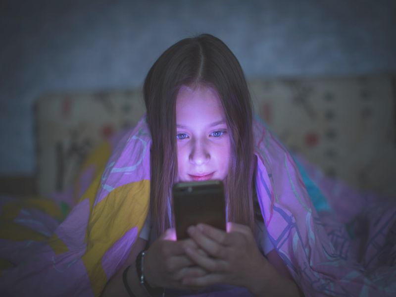 Too Much Social Media Can Harm the Mental Health of Young Girls