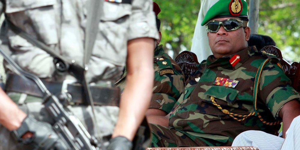 Sri Lankan Troops Barred from UN Peacekeeping over New Army Xhief