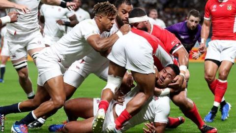 England 35-3 Tonga: Opening World Cup Win