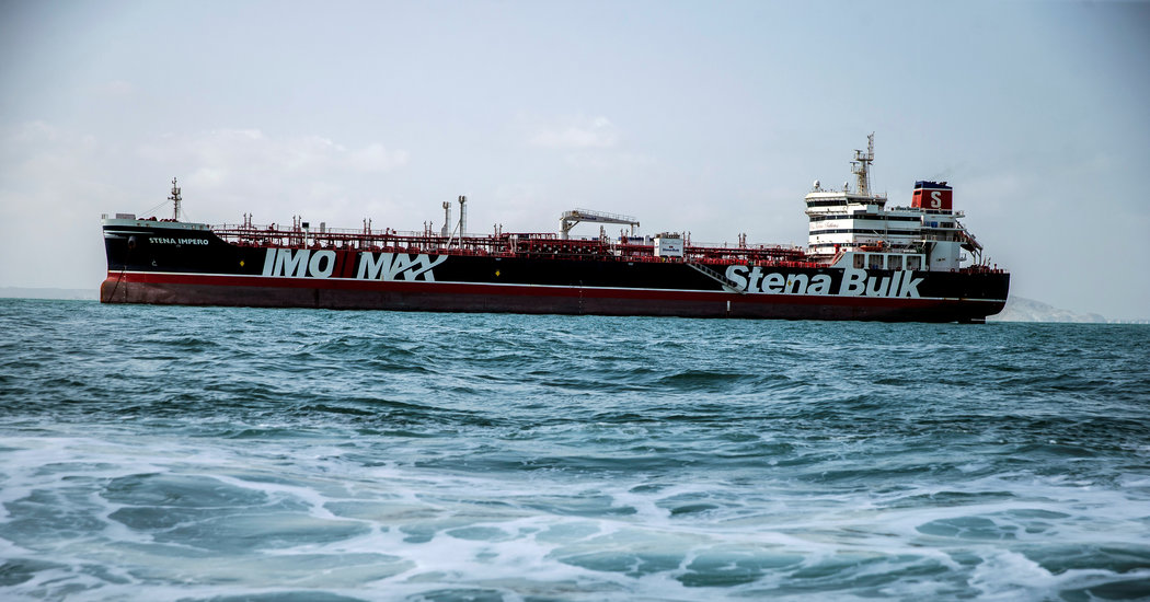 British Oil Tanker Leaves Iranian Port