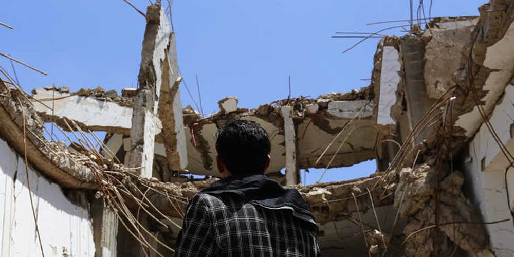 Air Strikes by the Saudi-Emirati-led Coalition Fighting Rebels in Southern Yemen Killed 16 Civilians