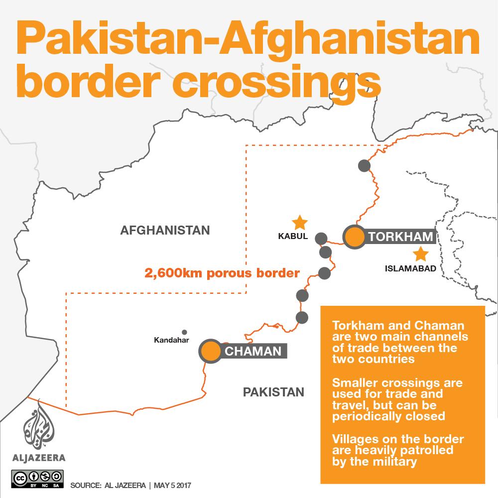 Pakistan - Afghanistan border