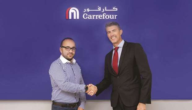 Talabat and Carrefour to Allow Customers to do their Grocery Shopping