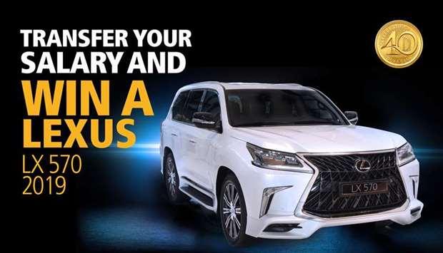 Doha Bank Offers Salary Transfer Customers Chance to Win New Lexus LX 570