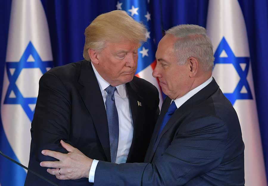 President Trump Takes an Apparent Step Back from Netanyahu