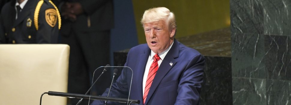 US Trump Told the UN General Assembly that the World has a 'Duty to Act' when it Comes to Iran