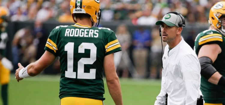 Rodgers, LaFleur Downplay 'Animated' Exchange