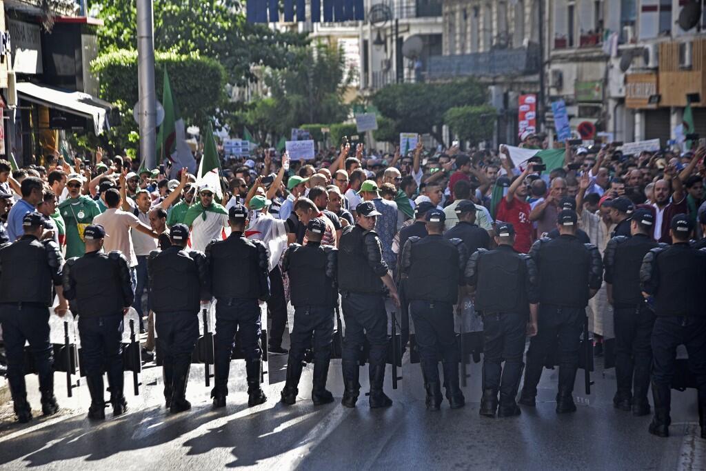 Police Arrest Dozens Before Celebrating The 1988 Algeria Spring