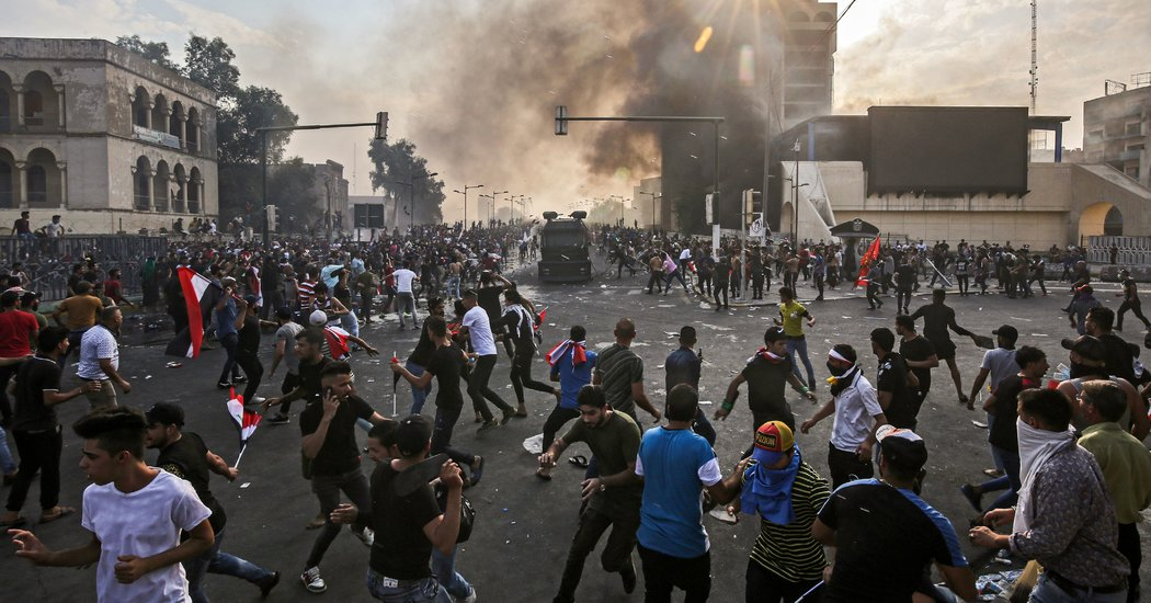 Iraqi Security Forces Clashed with Anti-government Protesters Killing 2 and Injuring More Than 200
