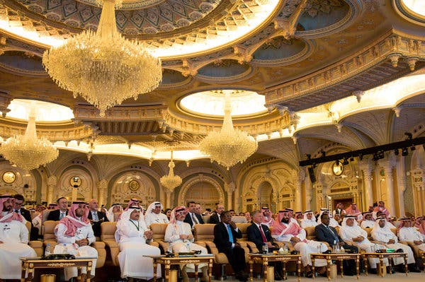 The Future Investment Initiative in Riyadh last year. Prince Mohammed's third annual investment conference will open this month and is expected to receive more Western guests than it did last year.