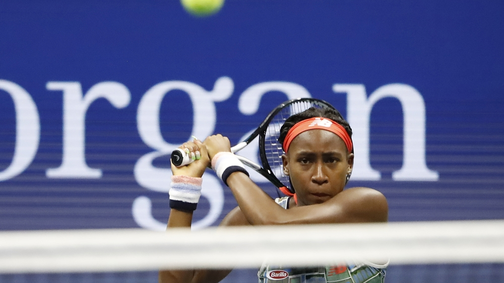 Teen Tennis Prodigy Gauff Surges into Ttop 100 of World Rankings