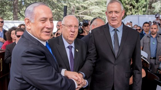 Israeli PM Netanyahu and Benny Gantz to Parley About Unity Government