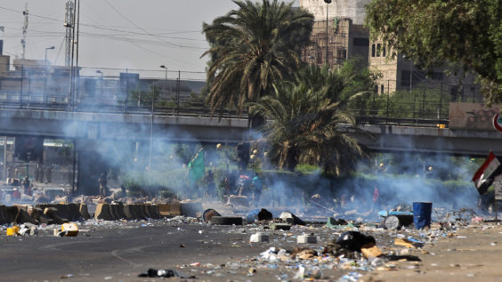 Death Toll Up from Anti-government Rioting in Iraq