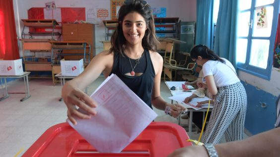 Tunisians Went to the Polls to Elect a New Parliament