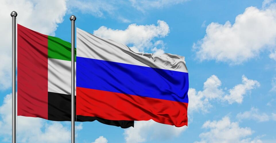 UAE,Russia Non-Oil Trade Exceeds $14 Billion Over the Past Five Years