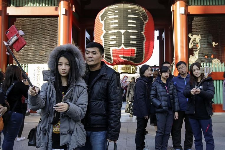 Japan Woos Chinese Tourists Amid Rise in Arrivals