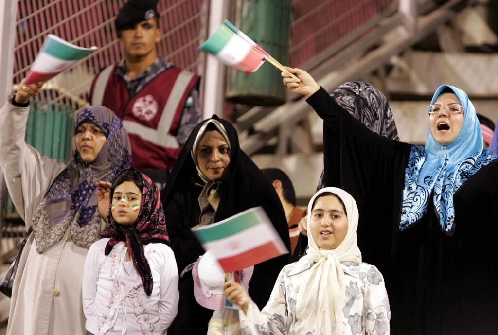 Thousands of Iranian Women Allowed to Attend Football Match for First Time in Decades