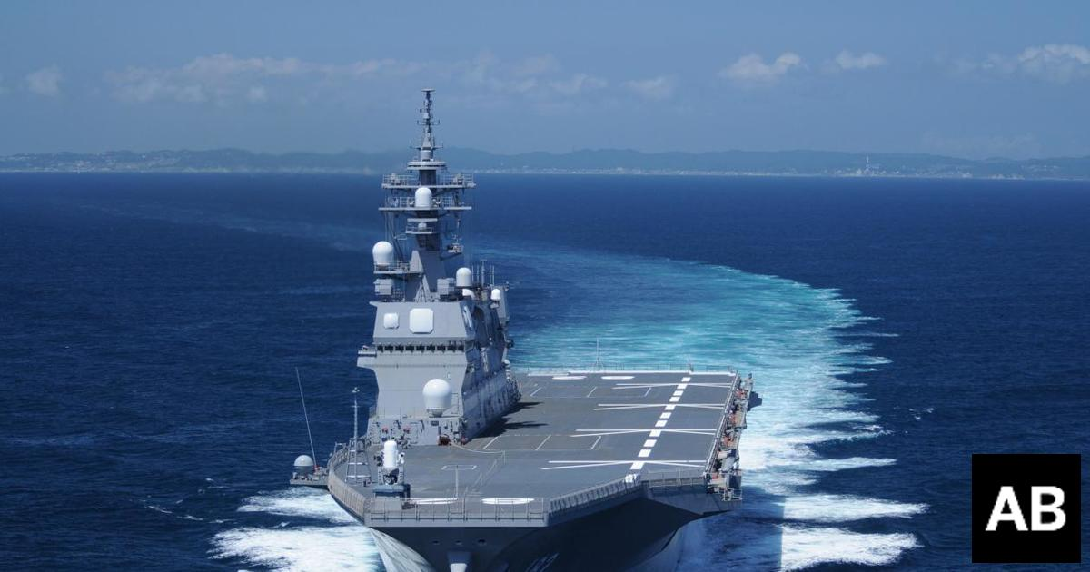 Japan Mulls Sending Naval Assets to the Middle East