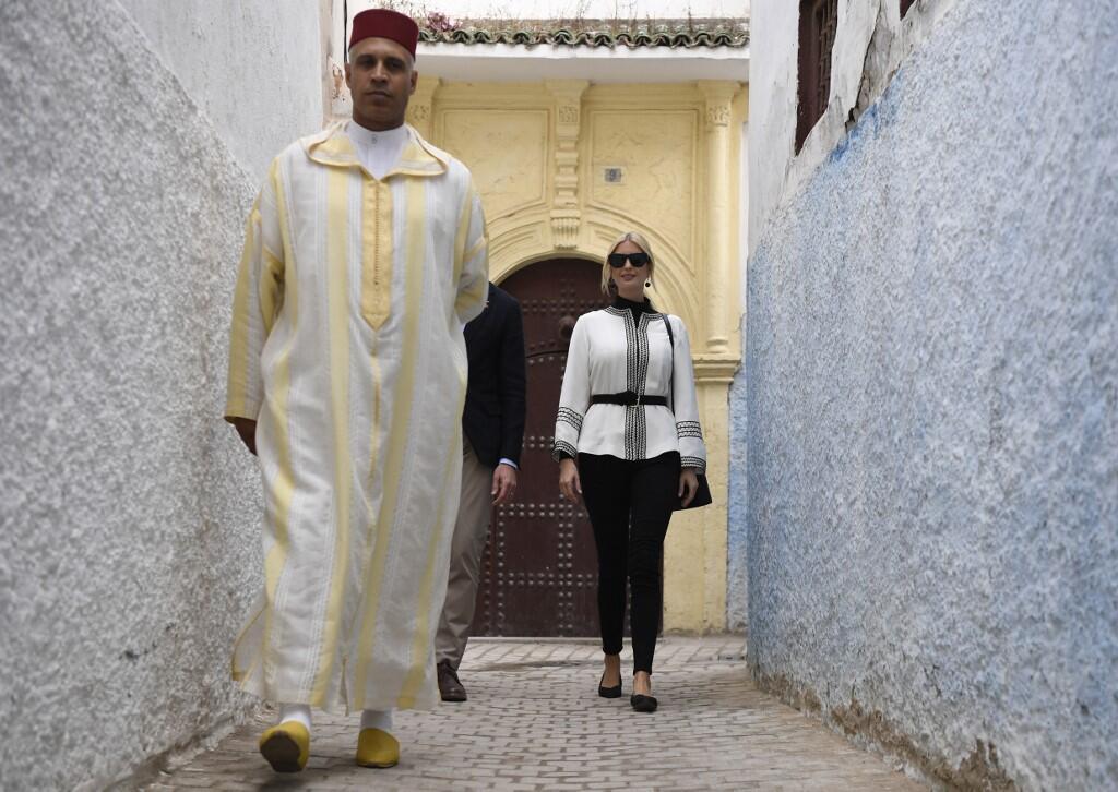 Ivanka Trump Kicks Off Her Moroccan Trip to Enjoy Tea With Princess Lalla Meryem
