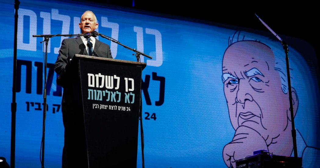 With Israel in Limbo, Benny Gantz Vows to Seek a 'Peace Within'