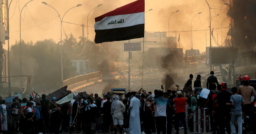 Iraq Cracks Down on Protests as Prime Minister Gains Support