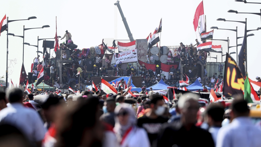 Security Forces in Iraq Fire Live Rounds at Protesters in Baghdad