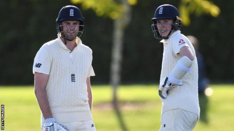Sibley & Crawley Hit Tons in England Tour Match in NZ