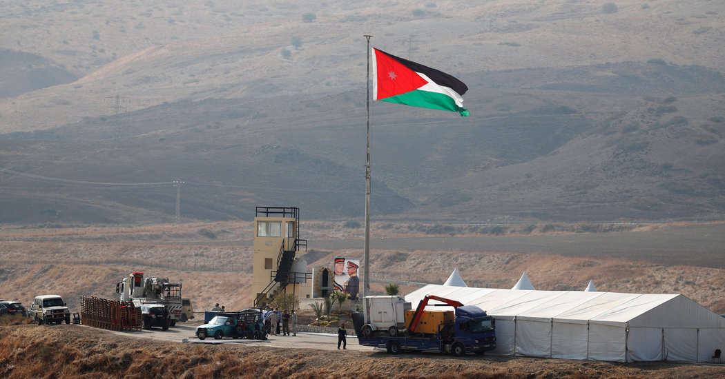Jordan's King Reclaims Border Land Israelis Used Under '94 Peace Treaty