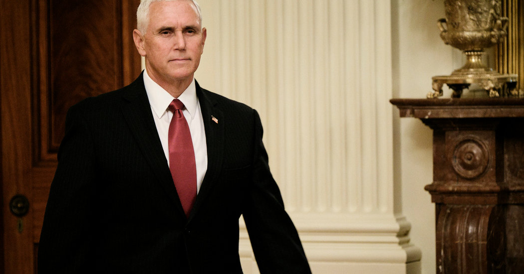 Mike Pence Makes Unannounced Visit to Iraq