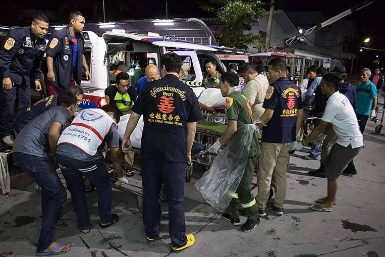 At Least 15 People Were Killed in an Ambush by Suspected Muslim Militants in Thailand