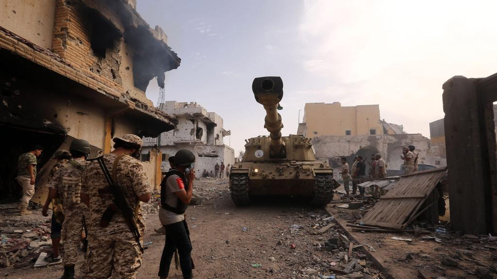 Libyan National Army Continues to Target GNA Forces in Tripoli